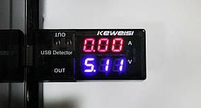 USB Тестер напряжения и тока Keweisi KWS-10A
