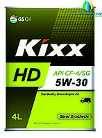 Моторное масло для дизельных двигателей  (KIXX Dynamic CF-4) KIXX HD CF-4/SG 5W-30 4л