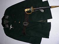 Охотничий кинжал, 3-й рейх с кителем егеря, 1930-е годы, Германия