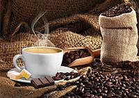 Алмазная вышивка Ароматный кофе DM-163 (35 х 50 см) ТМ Алмазная мозаика