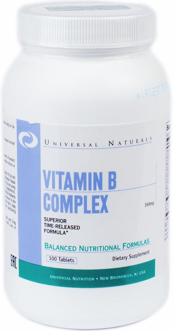 Vitamin B Complex Universal Nutrition 100 tabs