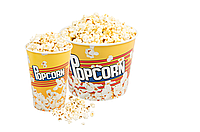Стаканы для попкорна с крышками/Стандартный дизайн