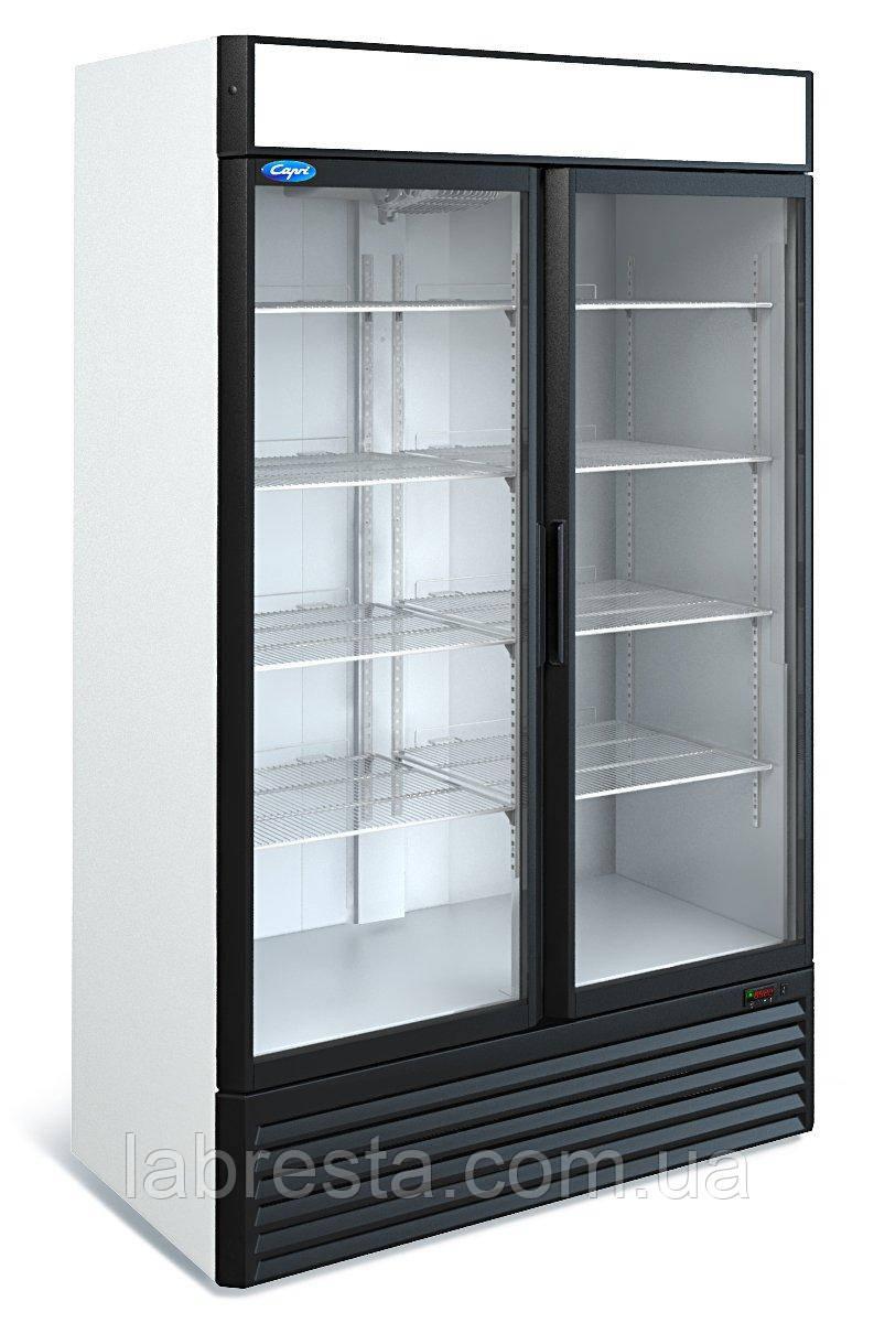 Универсальный шкаф Капри 1,12УСК (купе, -6...+6°С)
