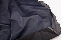 Кожа стрейч темно-синяя