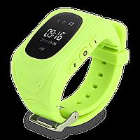 Детские телефон-часы с GPS трекером Smart Watch Q50 (GW300) Green