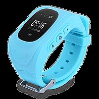 Детские телефон-часы с GPS трекером Smart Watch Q50 (GW300) Blue