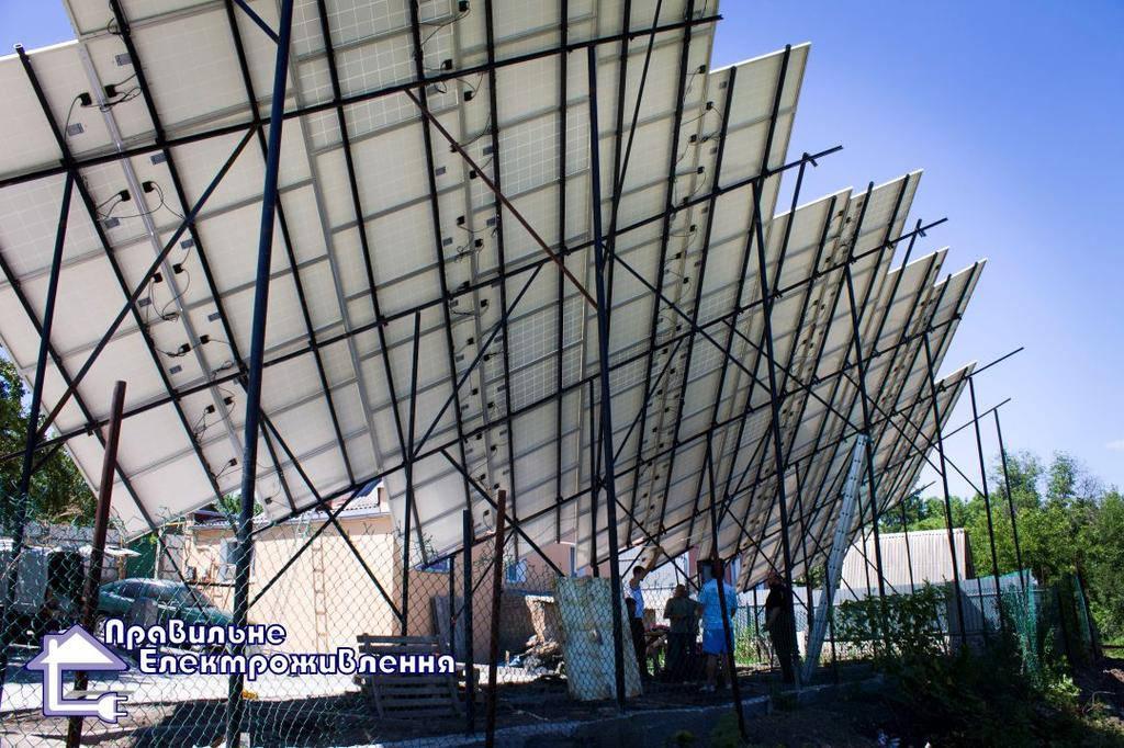 Мережева сонячна електростанція 30 кВт м. Кропивницький  2