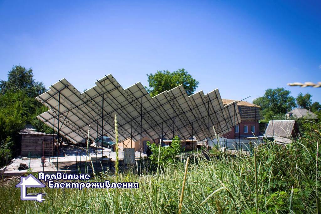 Мережева сонячна електростанція 30 кВт м. Кропивницький  3