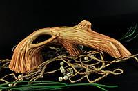 Керамическая коряга для аквариума