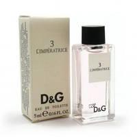 D&G 3 L'imperatrice Mini 5ml