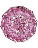 Зонт SL 470-5 Черный,малиновый, фото 1