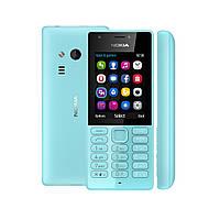 """Мобильный телефон Nokia 216 Dual Sim Blue голубой (2SIM) 2,4"""" 16/16 МБ+SD 0,3/0,3 Мп оригинал Гарантия!"""