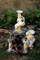 Античная аквариумная керамика с клоннами