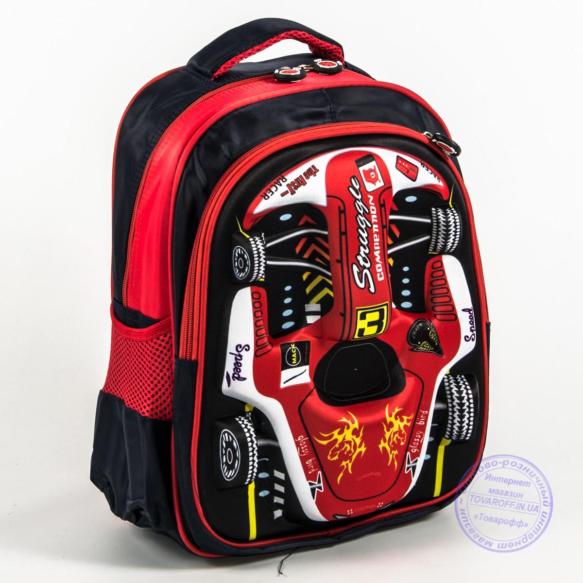 b11c85ede0e7 Школьный рюкзак для мальчика 3D машина - красная - 129: заказ, цены ...