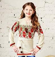 Детская туника для девочек, 100% лен, фото 1