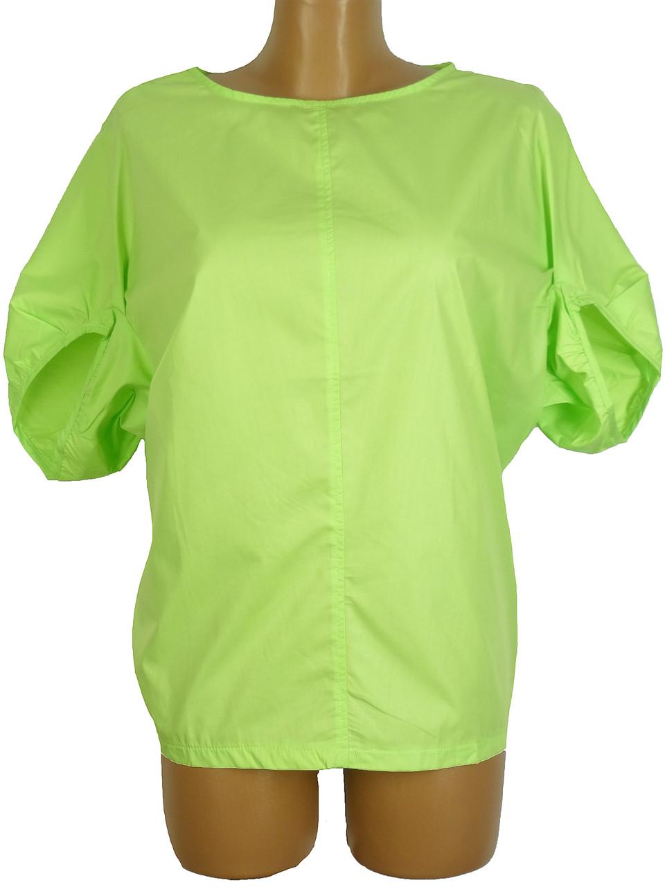Свободная женская блузка (в расцветках 44-50)