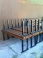 """Лавка садово-парковая с металическими ножками """"Стандарт"""""""