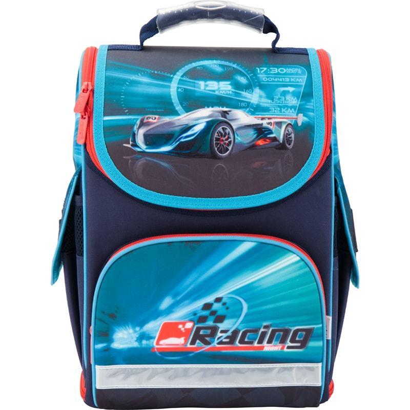 """Рюкзак шкільний Kite """"трансформер"""" 500 Racing night"""