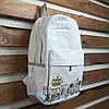 Модный городской рюкзак из холста, фото 3