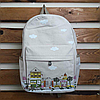 Модный городской рюкзак из холста, фото 2