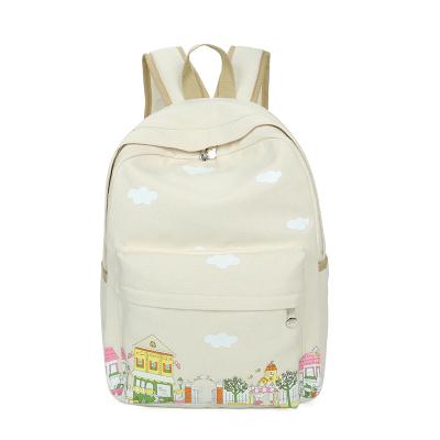 Модный городской рюкзак из холста