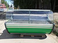 Витрина холодильная Cold  2 м.б у, гастрономическая витрина б/у