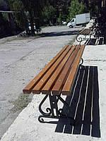 Лавка садово-парковая Фигурная(БС)