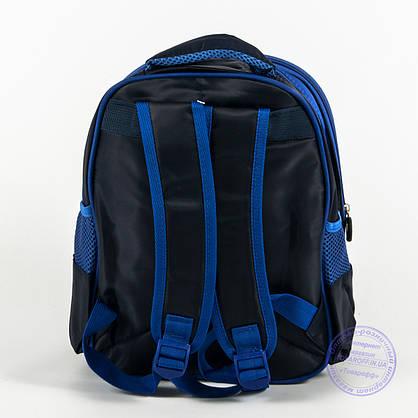 Детский рюкзак для мальчика 3Д машинка - синий - 128, фото 2