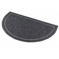 Trixie Трикси 40385 притуалетный коврик для кошачьего туалета полукруг антрацит 41*25 см