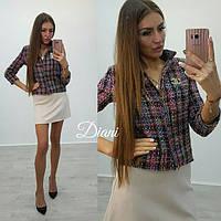 Стильный женский пиджак к-t14093