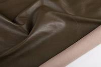 Кожа стрейчевая одежная олива