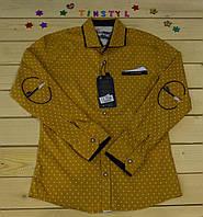 Стильная рубашка  для мальчика на рост 128-164см , фото 1
