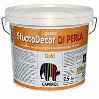 Краска Capadecor StuccoDecor DIL PERLA Gold 2.5 л