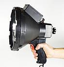 Поисковый прожектор, с ручкой, черный , фото 2