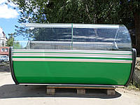 Холодильная витрина Cold 2 м .б/у, купить витрину гастрономическую б у., фото 1