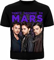Футболка 30 Seconds To Mars (фото группы)