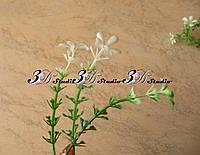 Добавка ресничка тройная с белым цветком