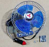 """Вентилятор автомобильный 24Вольт на кронштейне (D=15cm, 6"""") CF-612"""