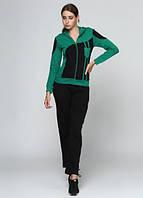 4210 Спортивный костюм женский зеленый: imprezz.com.ua