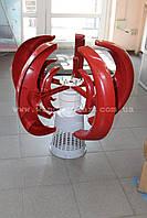 Ветрогенератор 350w max 2,0м/с старт, ветряк дачу дом пасеку рекламный кемпинг стоянку сторожку Вертикальный
