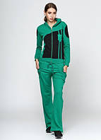4212 Спортивный костюм женский зеленый: imprezz.com.ua