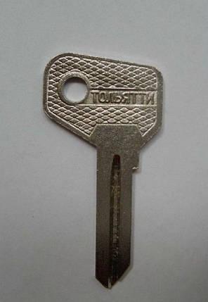Заготовка ключа ВАЗ 2101-2107 металл, фото 2