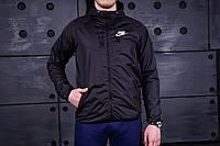 Windrunner Nike (Ветровка, виндраннер Найк), черный, фото 1