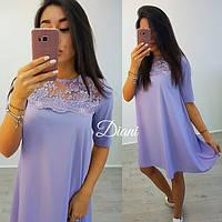 Женское платье (S-M) — костюмка купить в розницу в одессе  7км