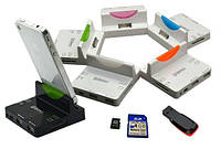 Док Станция - зарядное устройство + картридер + USB для iPhone 4 4S / iPad 2 3 4
