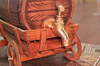 Бочка для вина (украинцы лепка ) золото 3л.