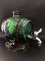 Бочка для вина керамическая камень