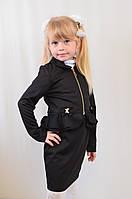 Модный школьный костюм пиджак и юбка на девочку.