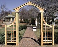 Арка Портал-1 садовая для вьющих растений деревянная, фото 1