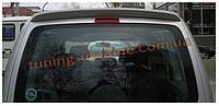 Анатомичный спойлер без стопа под покраску узкий на Volkswagen Caddy 1996-2004